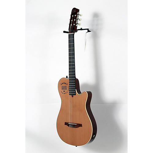 Godin Multiac Grand Concert Duet Ambiance Nylon String Acoustic-Electric Guitar-thumbnail