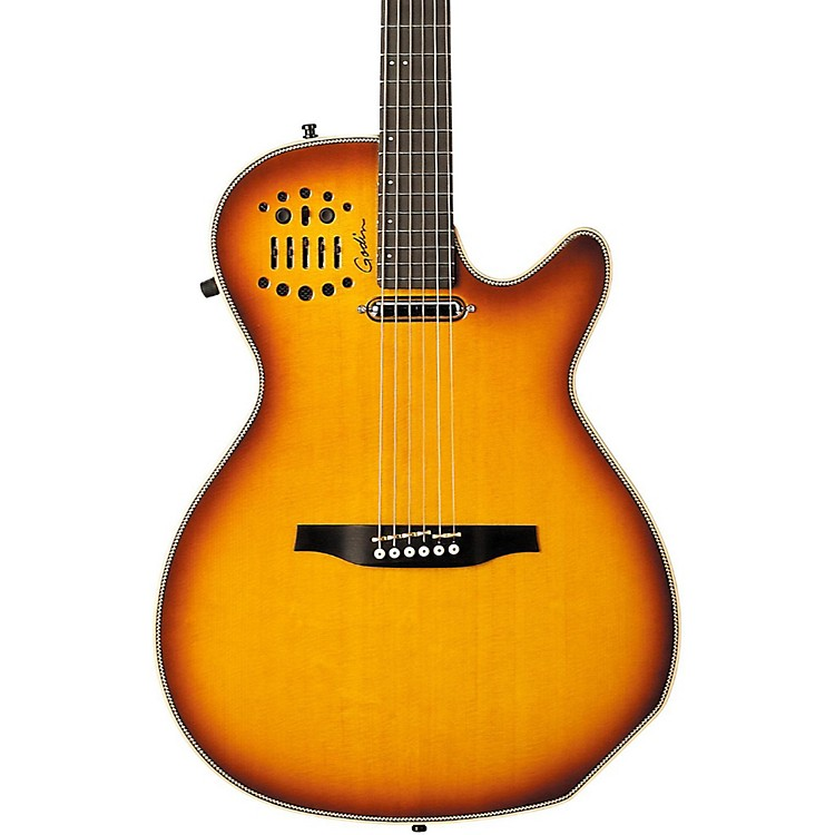 Godin Multiac Spectrum SA Cutaway Acoustic-Electric Guitar Lightburst