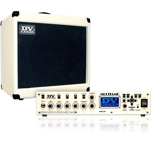 DV Mark Multiamp with a Pair of 1x12 Cabs