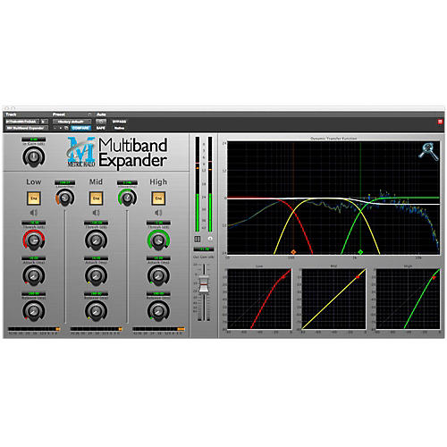 METRIC HALO Multiband Expander for Pro Tools AAX Software Download