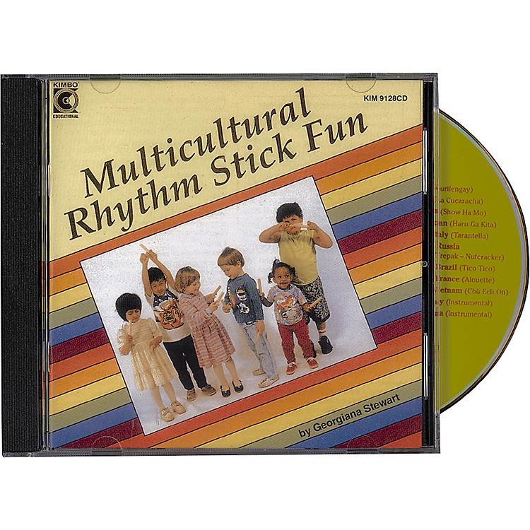 Kimbo Multicultural Rhythm Stick Fun Cd