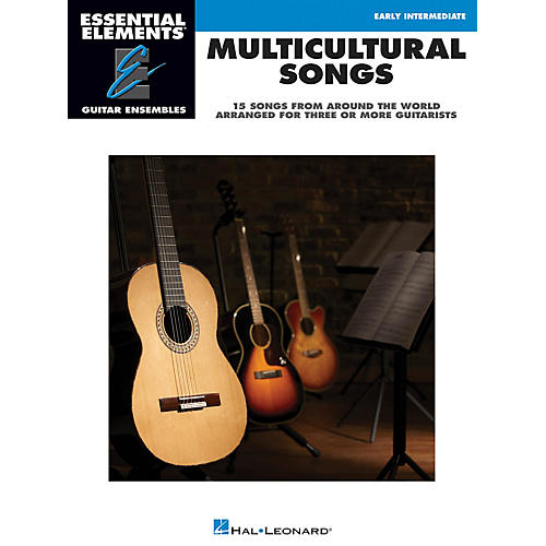 Hal Leonard Multicultural Songs Essential Elements Guitar Series Softcover Performed by Various