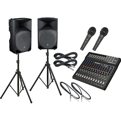 Alesis Multimix 16 USB FX / Thump TH-15A PA Package-thumbnail