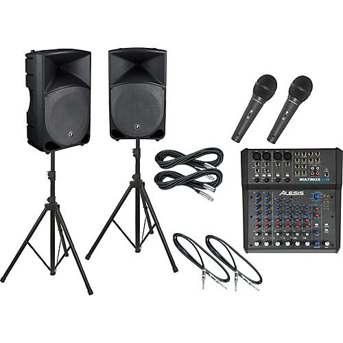 Alesis Multimix 8 USB FX / Thump TH-15A PA Package