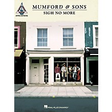 Hal Leonard Mumford & Sons - Sigh No More Guitar Tab Songbook