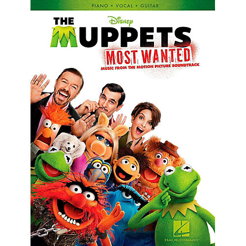 Hal Leonard Muppets Most Wanted - Music From The Motion Picture Soundtrack for Piano/Vocal/Guitar-thumbnail