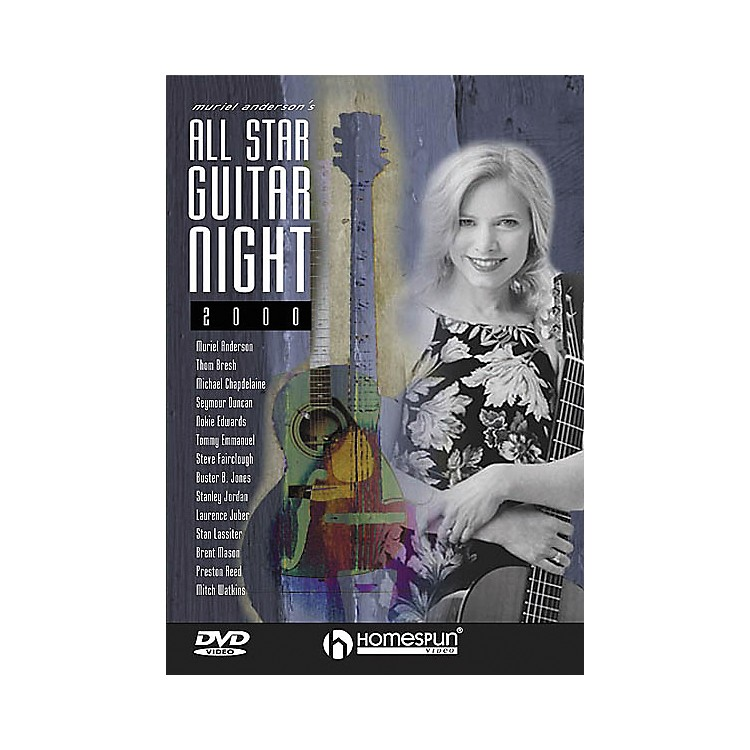 Homespun Muriel Anderson's All-Star Guitar Night, Concert 2000 (DVD)