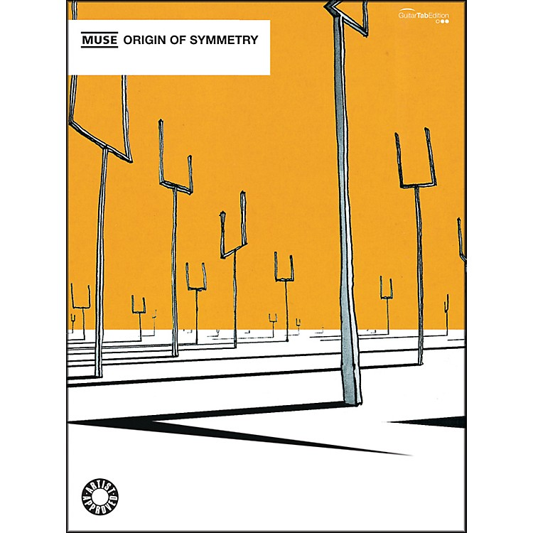 Alfred Muse - Origin of Symmetry Guitar TAB Book