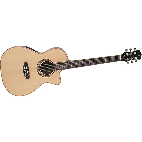 Luna Guitars Muse Parlor Acoustic-Electric Guitar