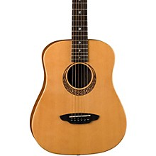 Luna Guitars Muse Safari Series Spruce 3/4 Dreadnought Travel Acoustic Guitar Level 1 Natural