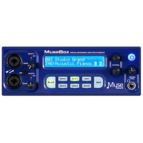 Peavey Musebox Virtual Instrument and Effects Module