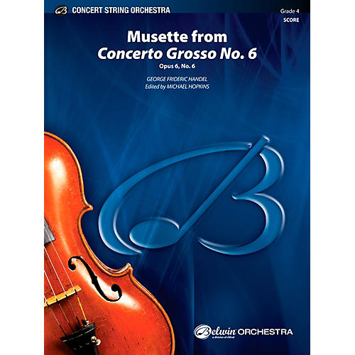 Alfred Musette from Concerto Grosso No. 6 Concert String Orchestra Grade 4 Set-thumbnail