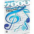 Alfred Music 2000: Classroom Theory Lessons for Secondary Students Volume II Student Workbook-thumbnail