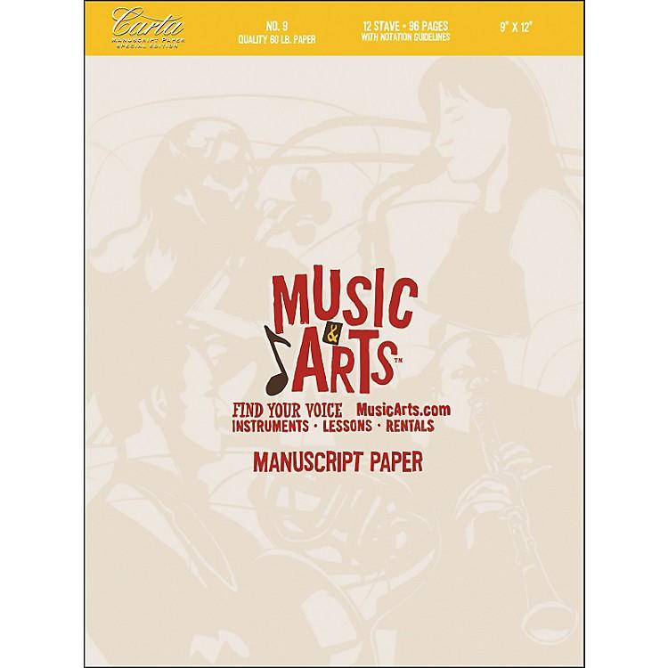 Hal LeonardMusic & Arts Carta Manuscript Paper Pad # 9
