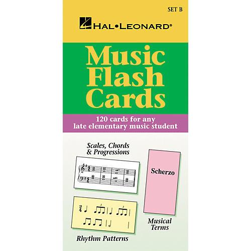 Hal Leonard Music Flash Cards Set B Hal Leonard Student Piano Library