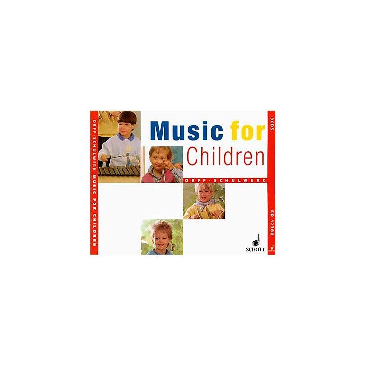 SchottMusic For Children Accompaniment CD's (Complete Set Of 3) for Orff
