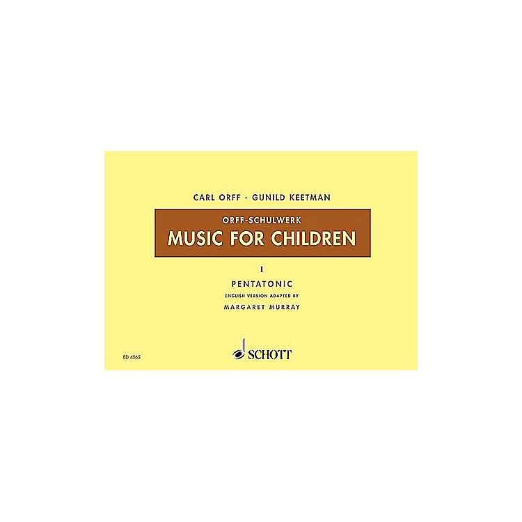 SchottMusic For Children, Vol. 2 Major Bordun by Carl Orff Arranged by Hall/Walter