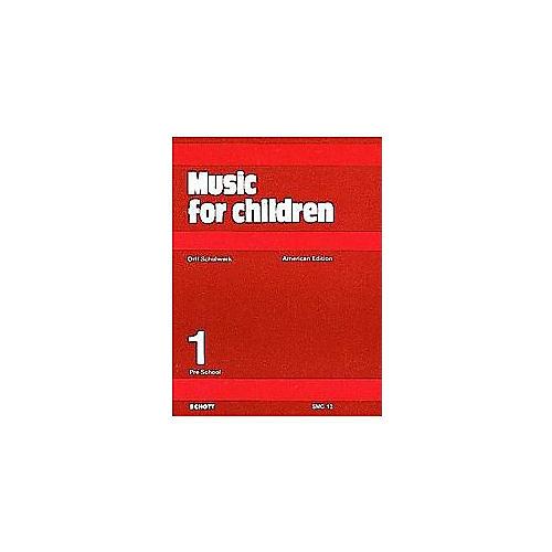 Schott Music For Children Volume 1: Preschool by Carl Orff and Gunild Keetman-thumbnail