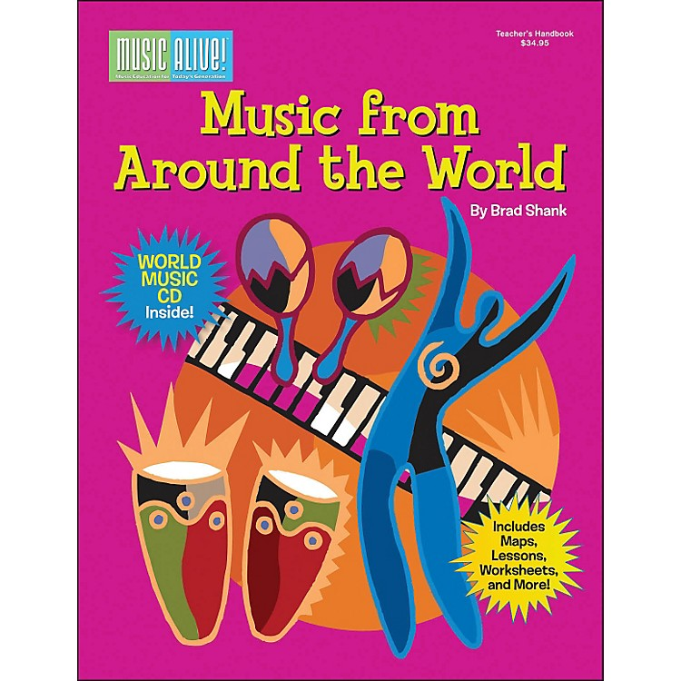 Cherry Lane Music From Around The World Book/CD