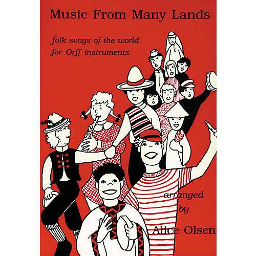 Alice Olsen Publishing Music From Many Lands