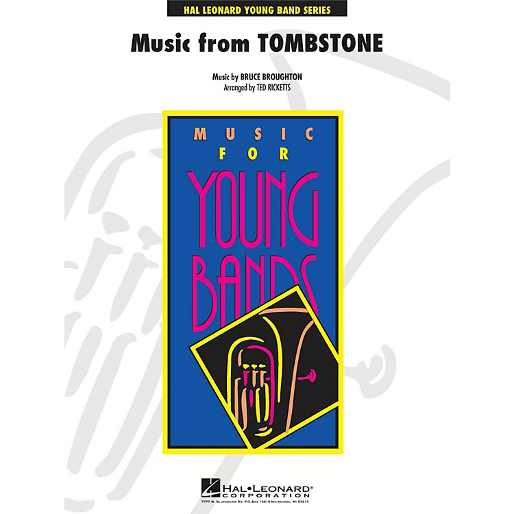 Hal LeonardMusic From Tombstone - Young Concert Band Series Level 3