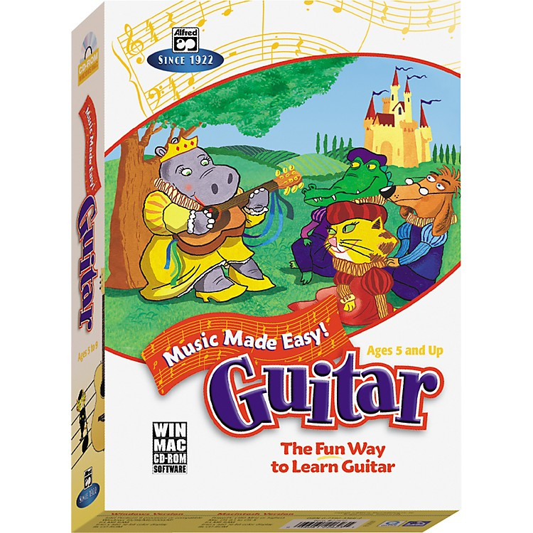 Alfred Music Made Easy Guitar (CD-ROM)