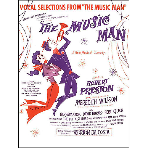Hal Leonard Music Man Vocal Selections From arranged for piano, vocal, and guitar (P/V/G)