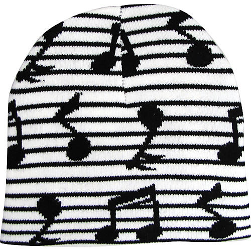 AIM Music Notes Beanie-thumbnail