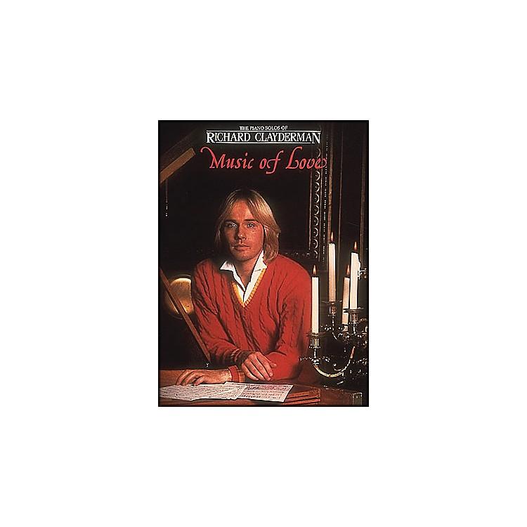 Hal LeonardMusic Of Love Piano Solos - Richard Clayderman