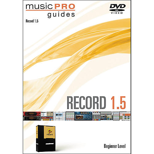 Hal Leonard Music Pro Guide Record 1.5 Beginner DVD
