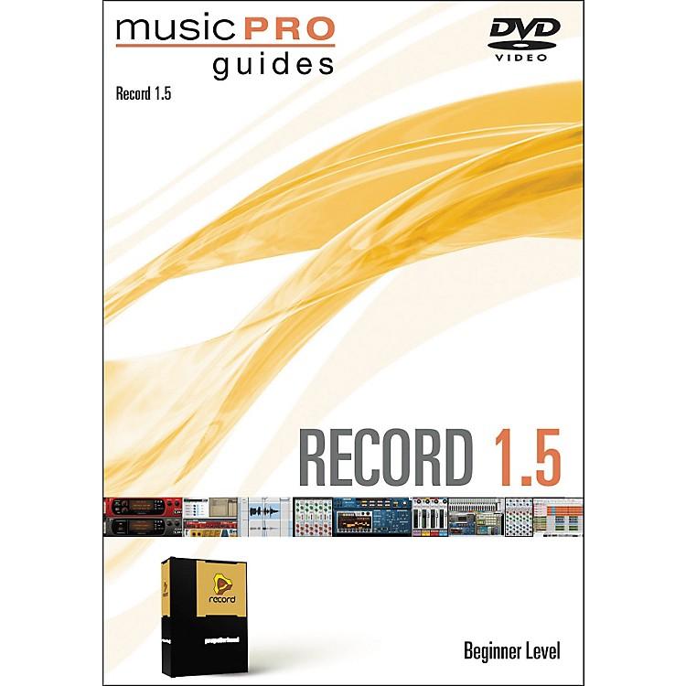 Hal LeonardMusic Pro Guide Record 1.5 Beginner DVD
