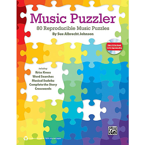 Alfred Music Puzzler Book & Data CD-thumbnail