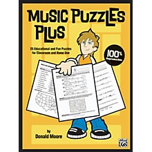 Alfred Music Puzzles Plus Book