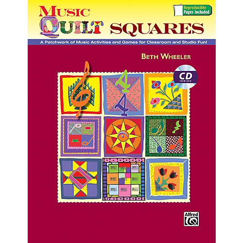 Alfred Music Quilt Squares Book and Data CD-thumbnail