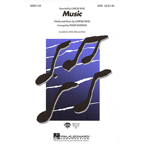 Hal Leonard Music SATB by Carole King arranged by Roger Emerson