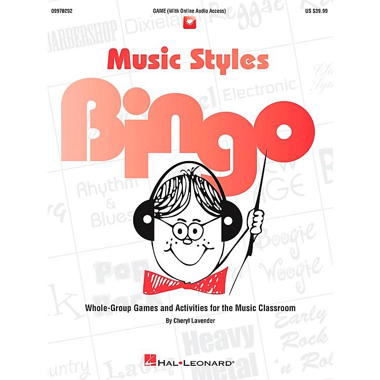 Hal LeonardMusic Styles Bingo Games And Activities Game/CD