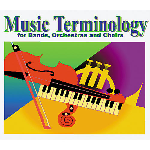 ECS Media Music Terms for Band, Orchestra and Choir Hybrid CD