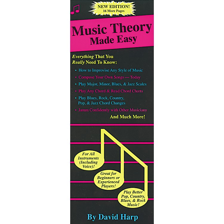 Music SalesMusic Theory Made Easy Book