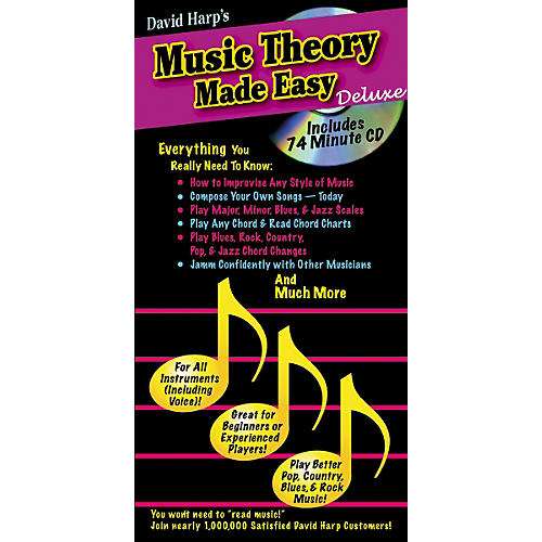 Music Sales Music Theory Made Easy Deluxe Book/CD