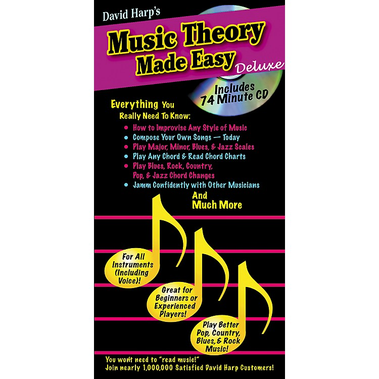 Music SalesMusic Theory Made Easy Deluxe Book/CD