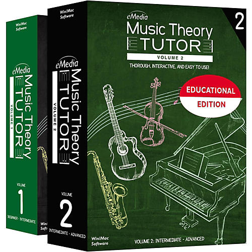 Emedia Music Theory Tutor Classroom License, 1- Computer, Teacher Presentation
