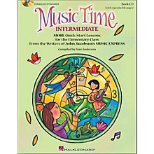 Hal Leonard Music Time:Intermediate - More Quick-Start Lessons for the Elementary Class Book/Enhanced CD
