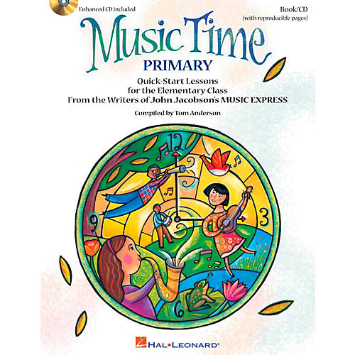Hal Leonard Music Time:Primary - Quick Start Lessons for the Elementary Class Book/CD