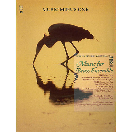 Music Minus One Music for Brass Ensemble (Music Minus One Tuba/Bass Trombone) Music Minus One Series Softcover with CD-thumbnail