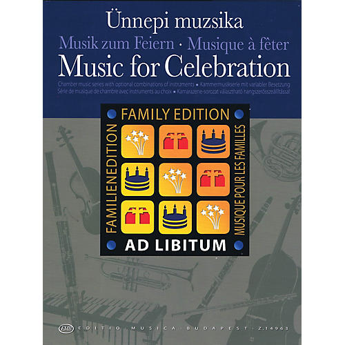 Editio Musica Budapest Music for Celebration EMB Series Softcover by Various-thumbnail