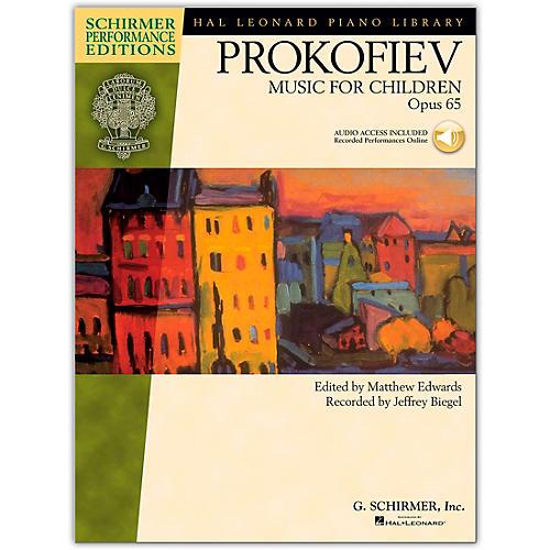 G. Schirmer Music for Children, Op. 65 Schirmer Performance Edition Book/CD By Prokofiev-thumbnail