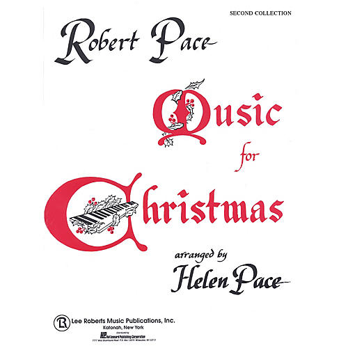 Lee Roberts Music for Christmas - Book 2 Pace Piano Education Series-thumbnail