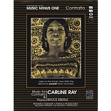 Music Minus One Music for Contralto & Piano Music Minus One Series Softcover with CD