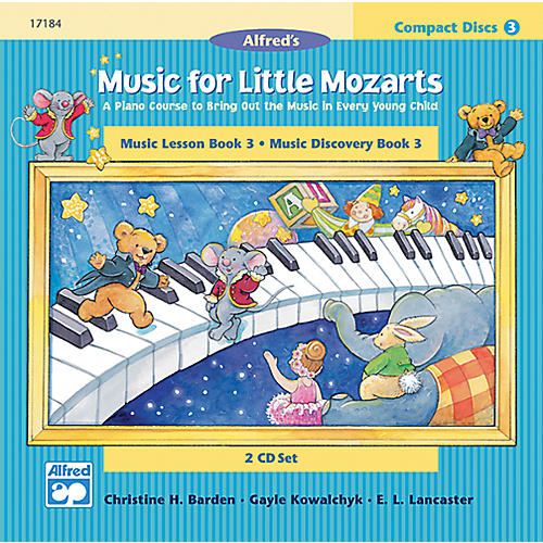 Alfred Music for Little Mozarts CD 2-Disk Sets for Lesson and Discovery Books Level 3 Level 3-thumbnail