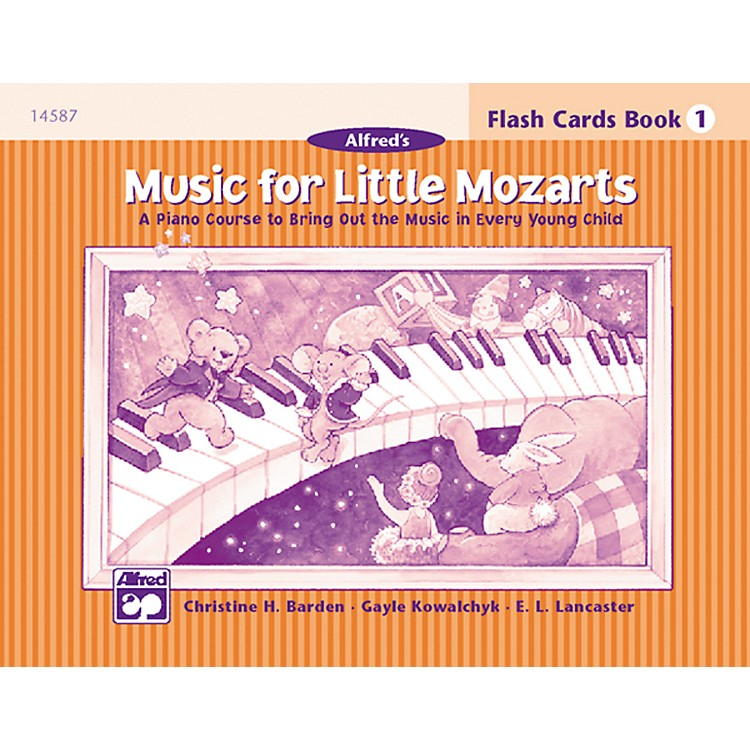 AlfredMusic for Little Mozarts Flash Cards Level 1